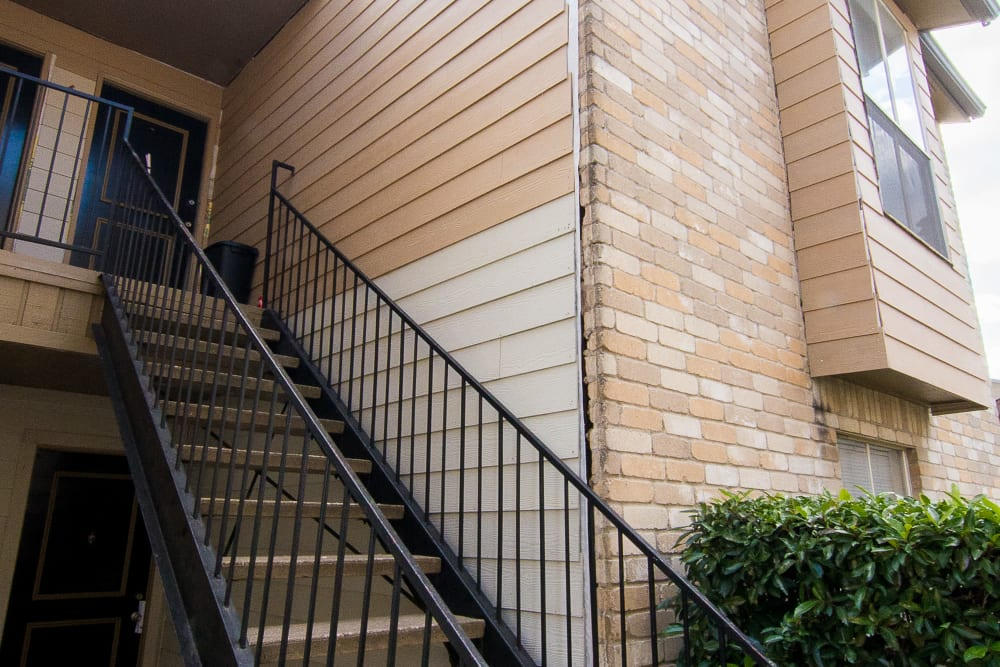 Stairs at Parkside Apartments