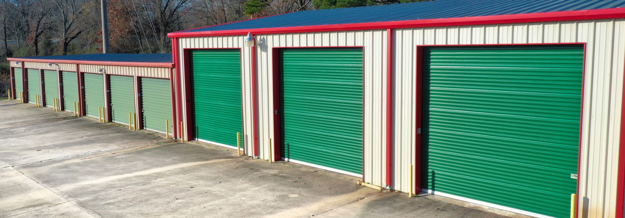 Exterior Units at Lockaway Storage in Texarkana, Texas