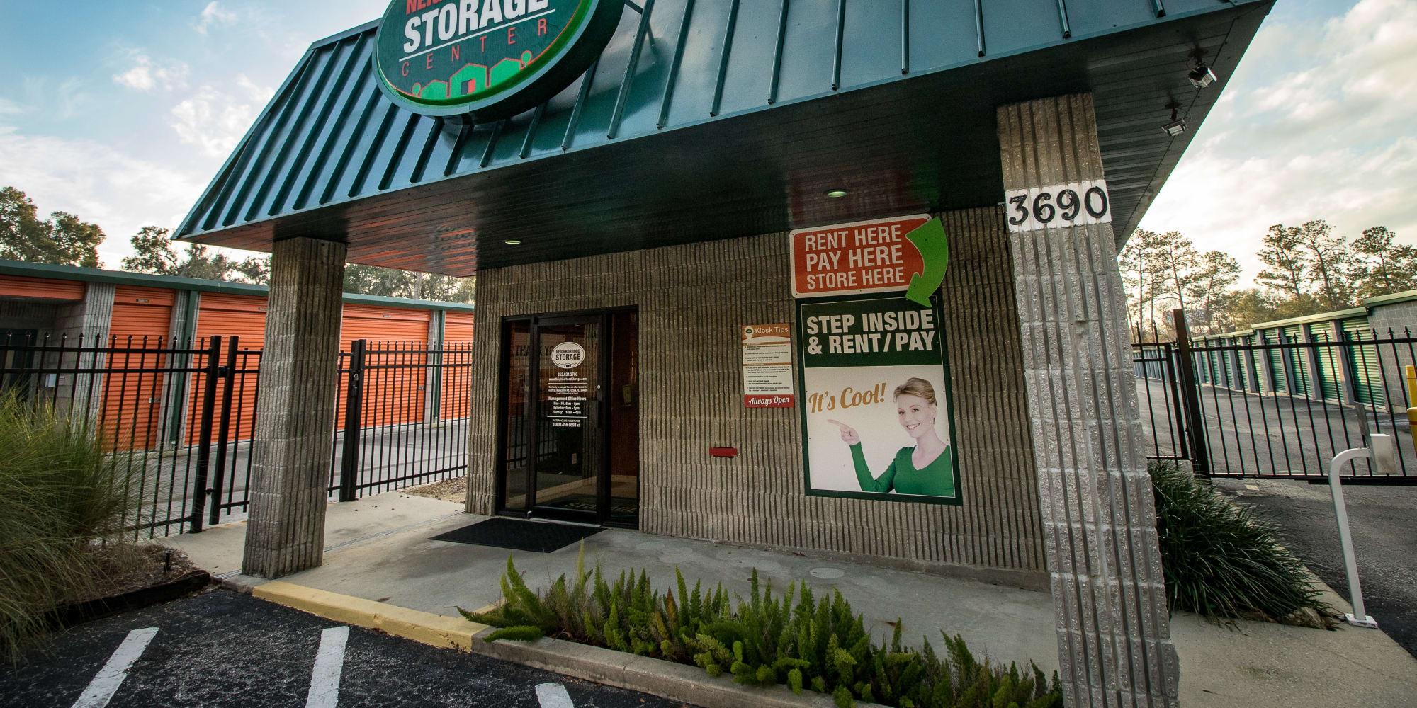 Self storage in Ocala FL