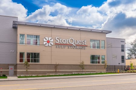 Facility exterior at StorQuest Self Storage in Tigard, OR