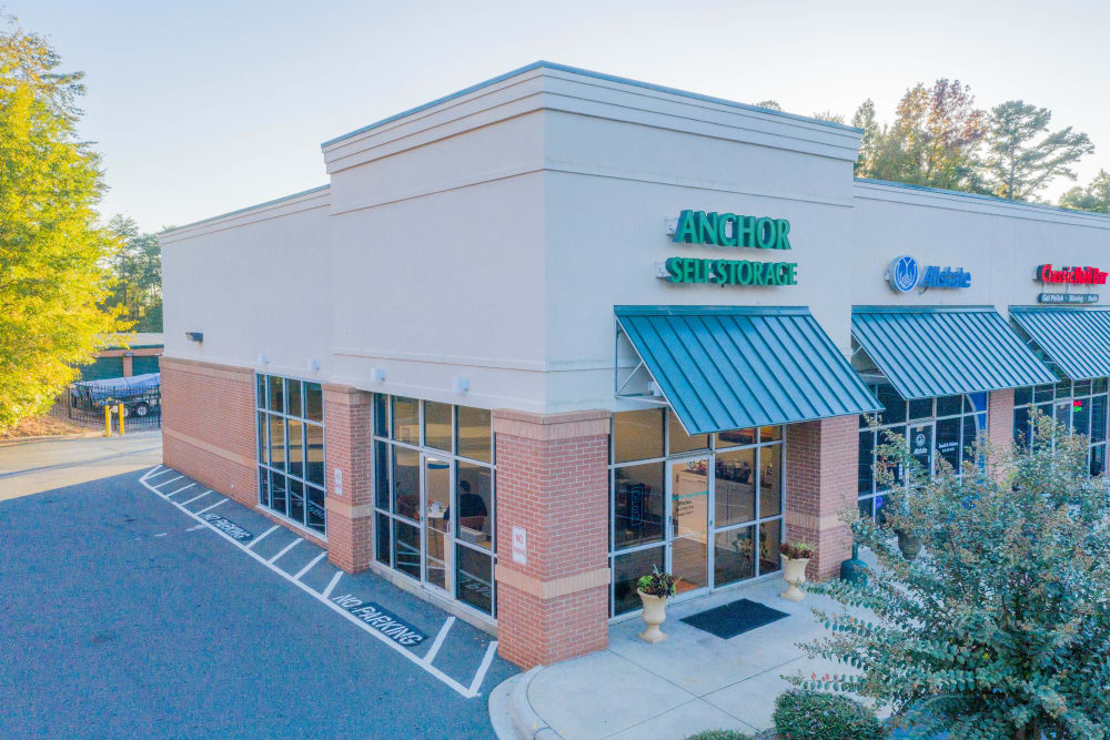 Store Front to Anchor Lake Wylie