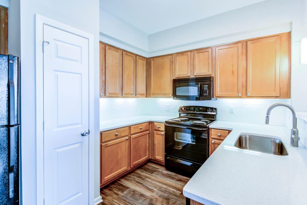 Beautiful Kitchen at West End at City Center in Lenexa, Kansas