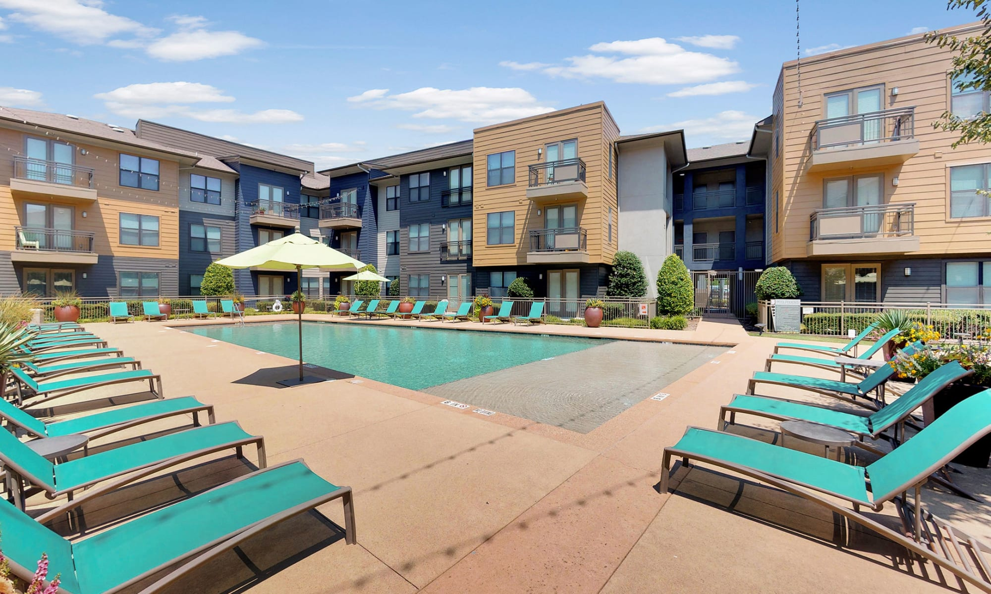 Apartments at 5th Street Crossing at City Station in Garland, Texas