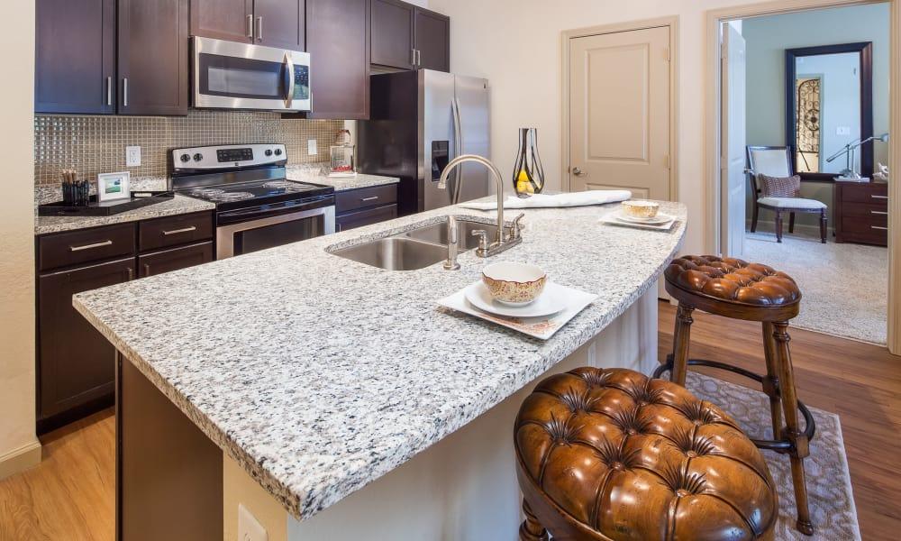 Enjoy apartments with a spacious kitchen at Vista at Lost Lake