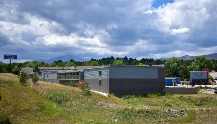 The exterior of STOR-N-LOCK Self Storage in Colorado Springs, Colorado