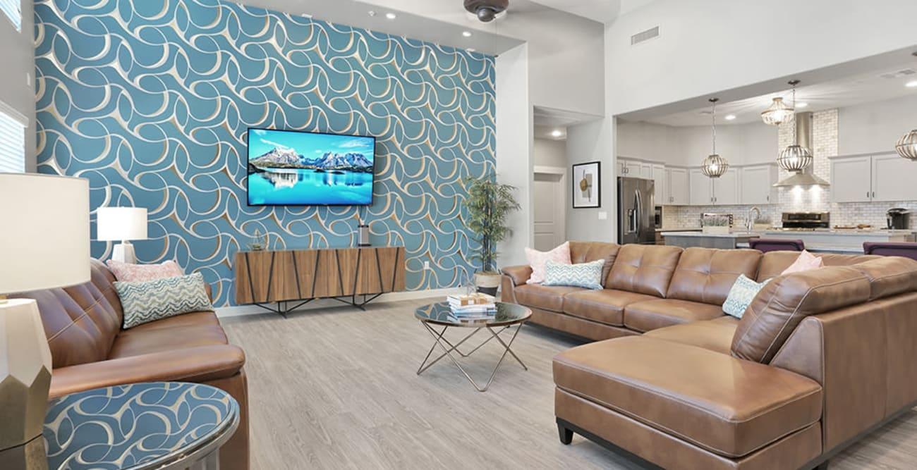 Living space at Hacienda Del Rey in Litchfield Park, Arizona