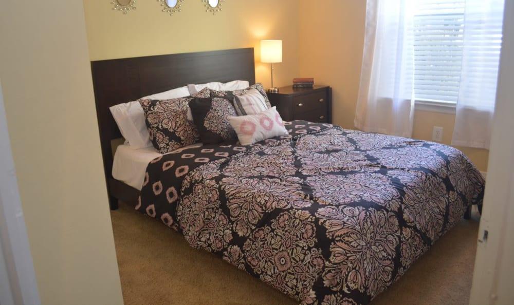 modern bedroom  at Springs at Palma Sola in Bradenton, FL