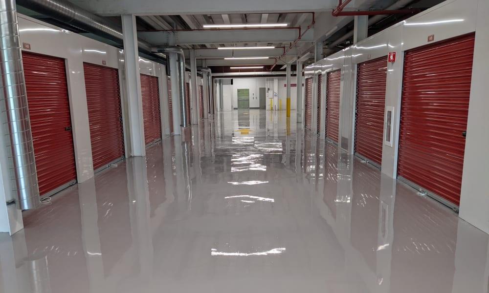 indoor access storage units at Devon Self Storage in Grand Rapids, Michigan