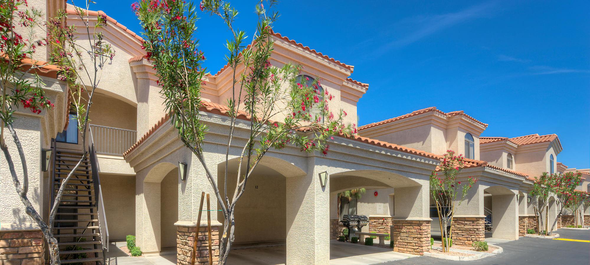 Exterior of San Prado in Glendale, Arizona