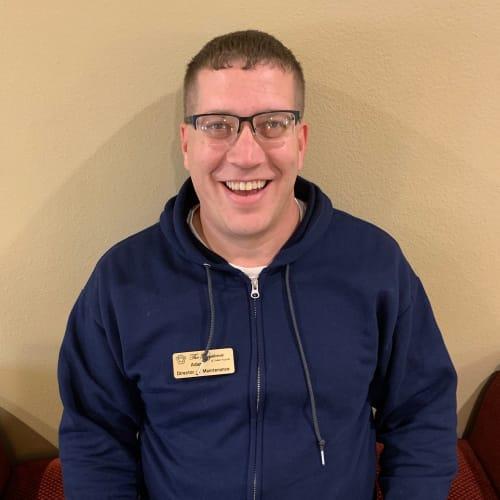 Adam Schwitzer, Maintenance Director of The Keystones of Cedar Rapids in Cedar Rapids, Iowa