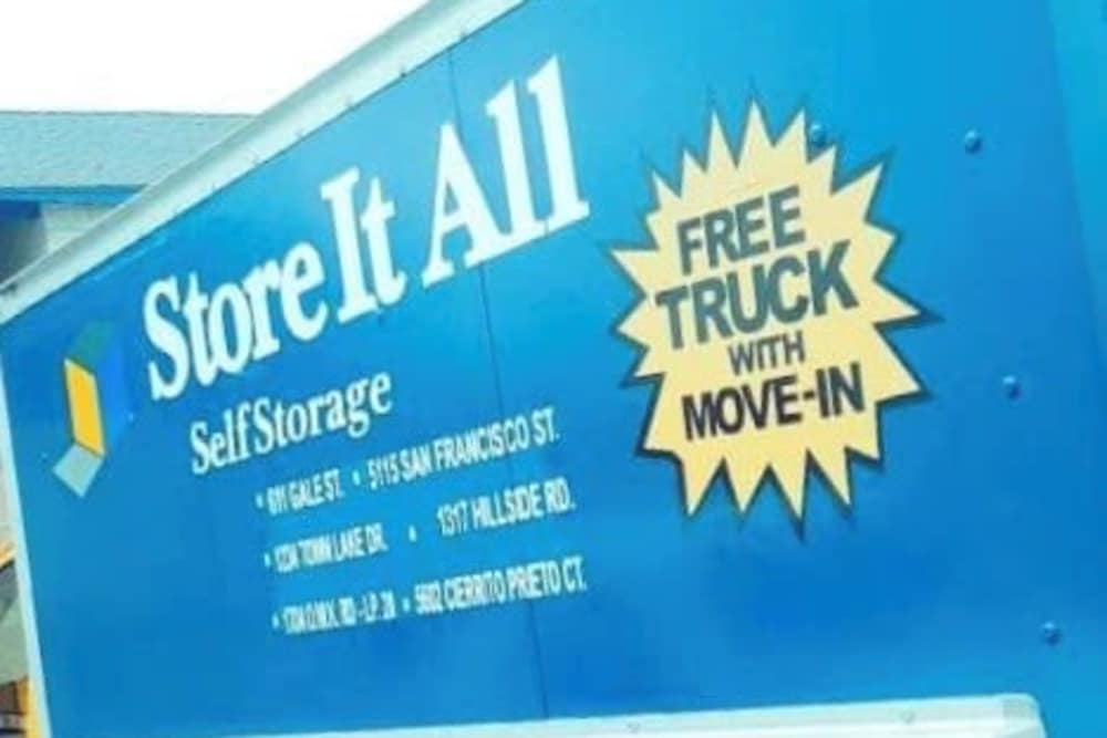 Free Truck at Store It All Self Storage - McPherson in Laredo, TX