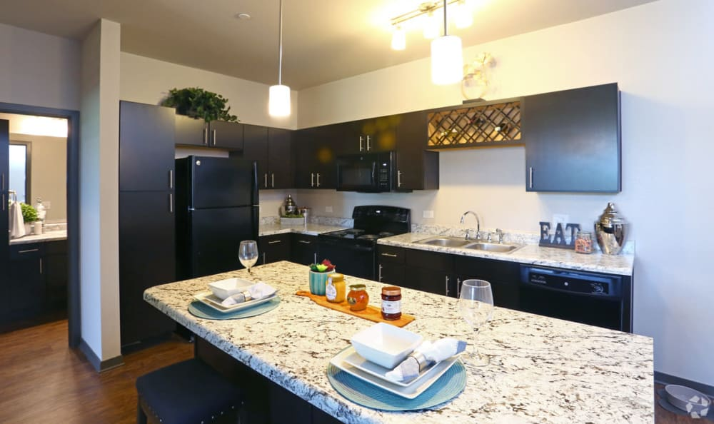 Kitchen at Springs at Canterfield