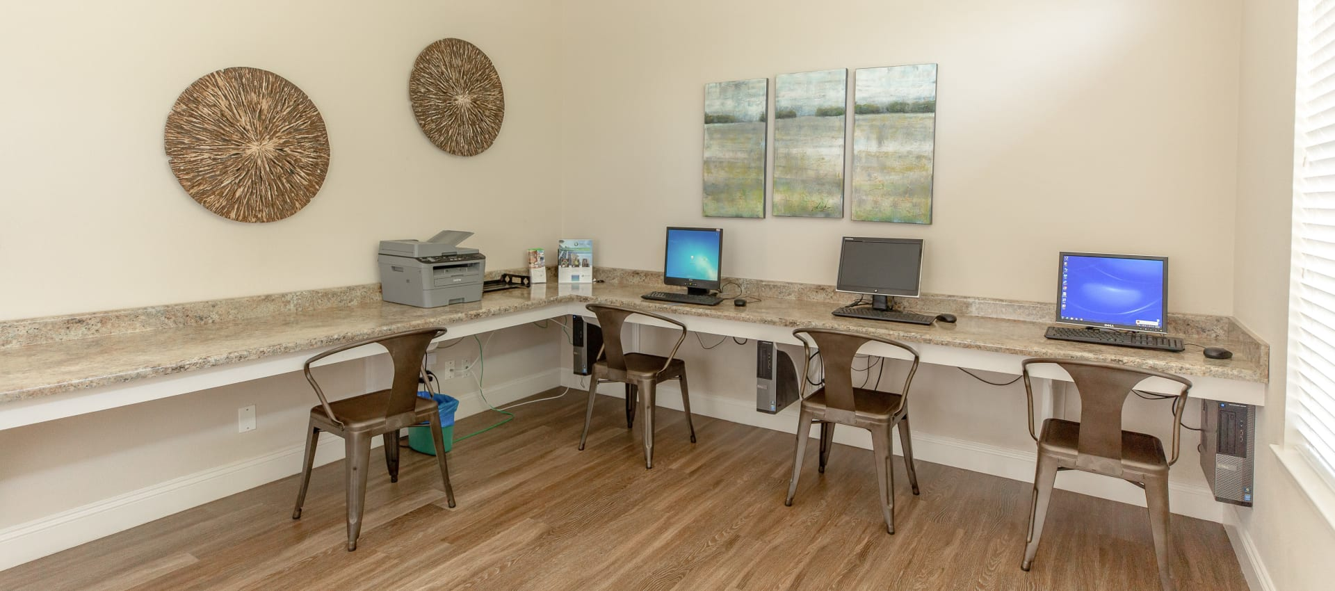 Business center at Shaliko in Rocklin, California.