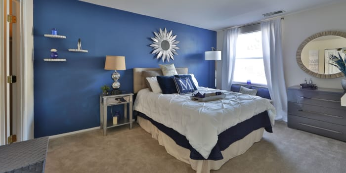 Bedroom at Avery Park Apartment Homes in Silver Spring, Maryland