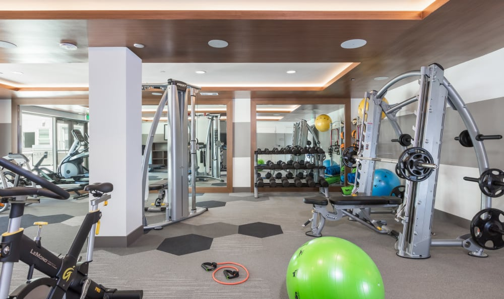 Stay healthy in our well equipped fitness center at Aster