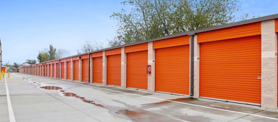 Convenient drive-up storage at A-1 Self Storage in San Jose, California