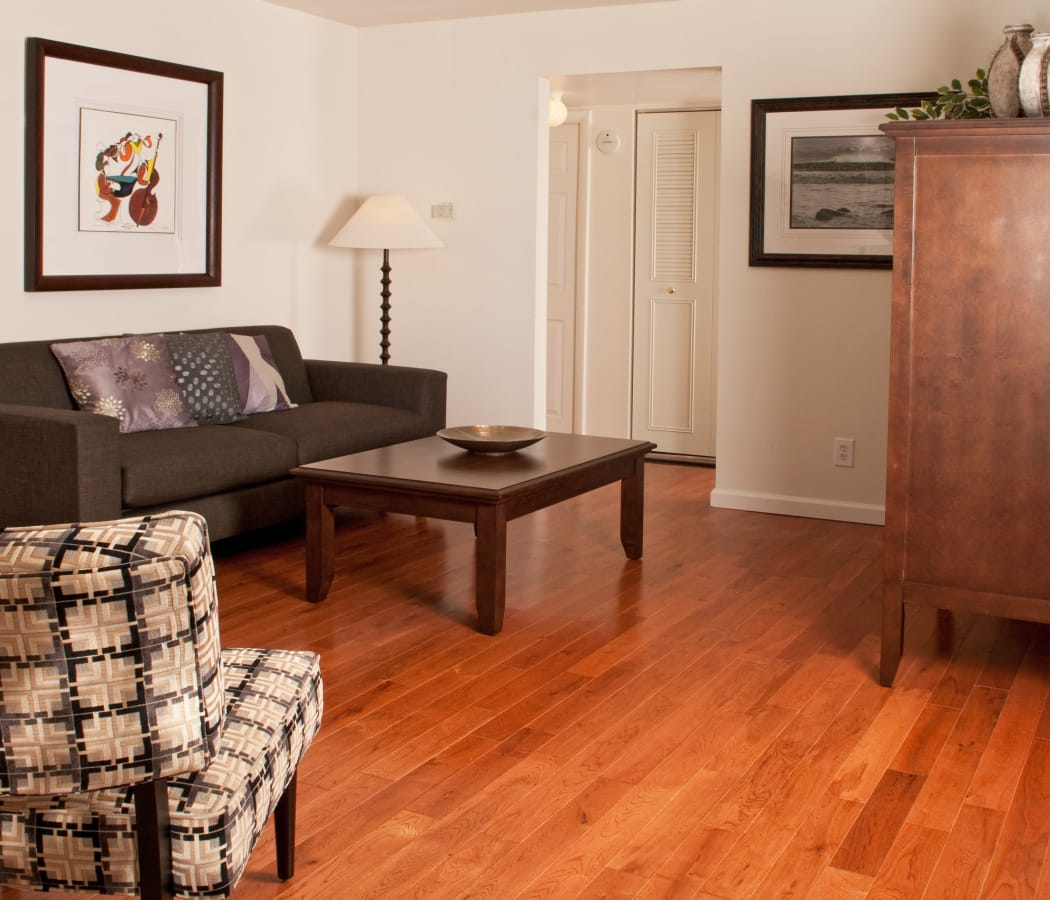 Enjoy a spacious living room at Jamestown Square Apartments in Blackwood, New Jersey