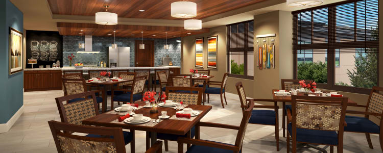 Welcome to The Retreat at Sunny Vista's dining room