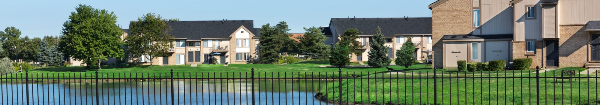 Neighborhood at Lakeside Terraces in Sterling Heights, Michigan
