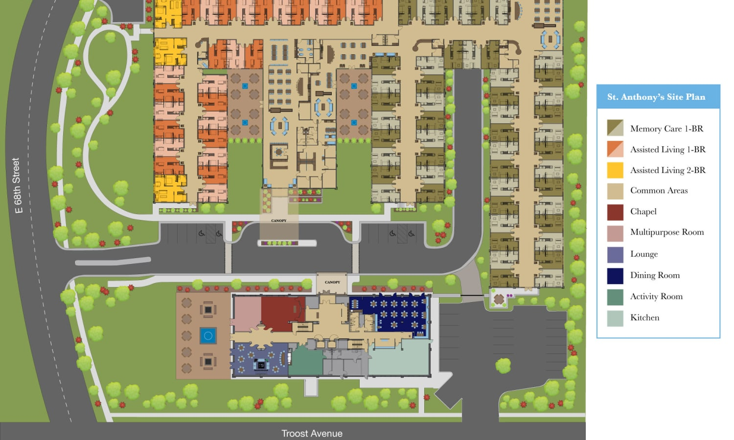 View our site plan