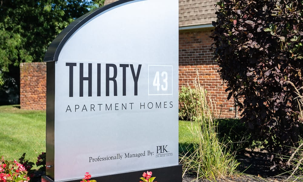 Apartment homes at Thirty43 by the Greene in Kettering, Ohio
