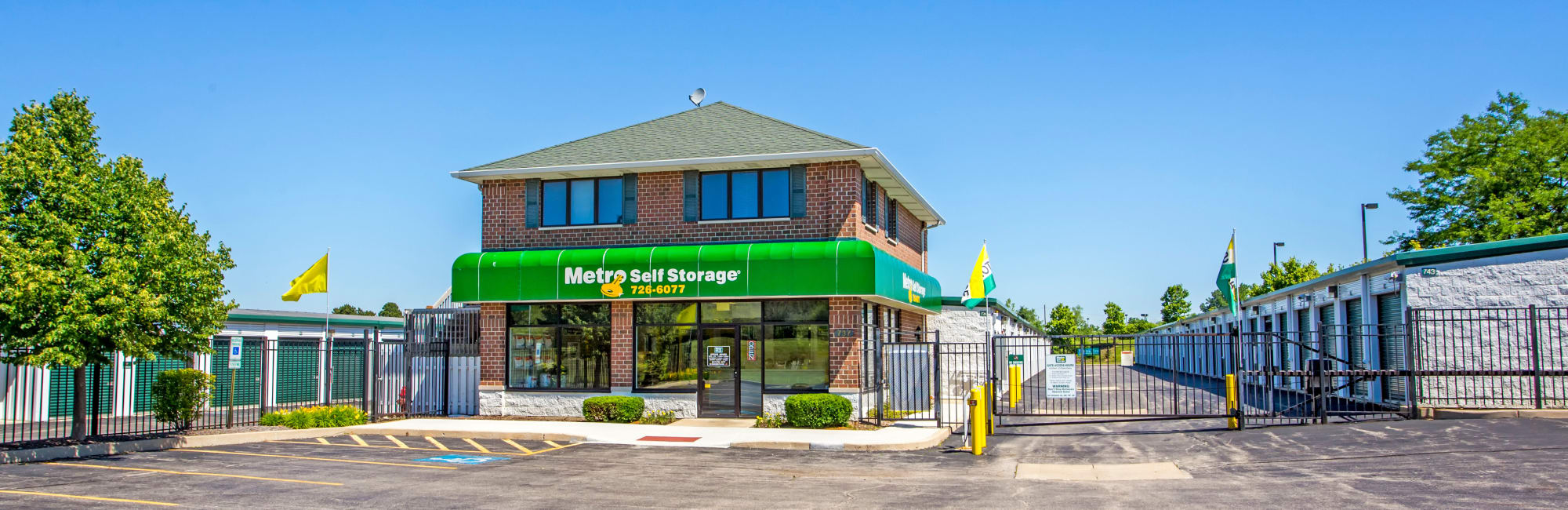 Metro Self Storage In Lake Zurich, IL