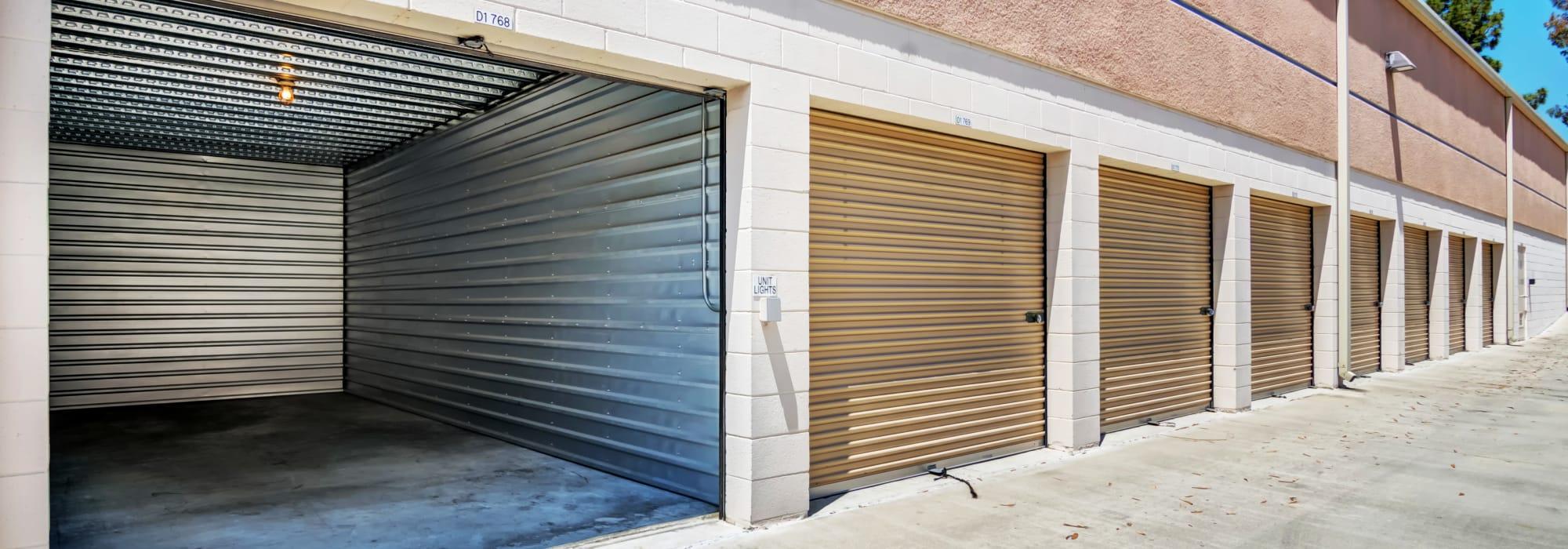 Outdoor units at Smart Self Storage of Eastlake in Chula Vista, California