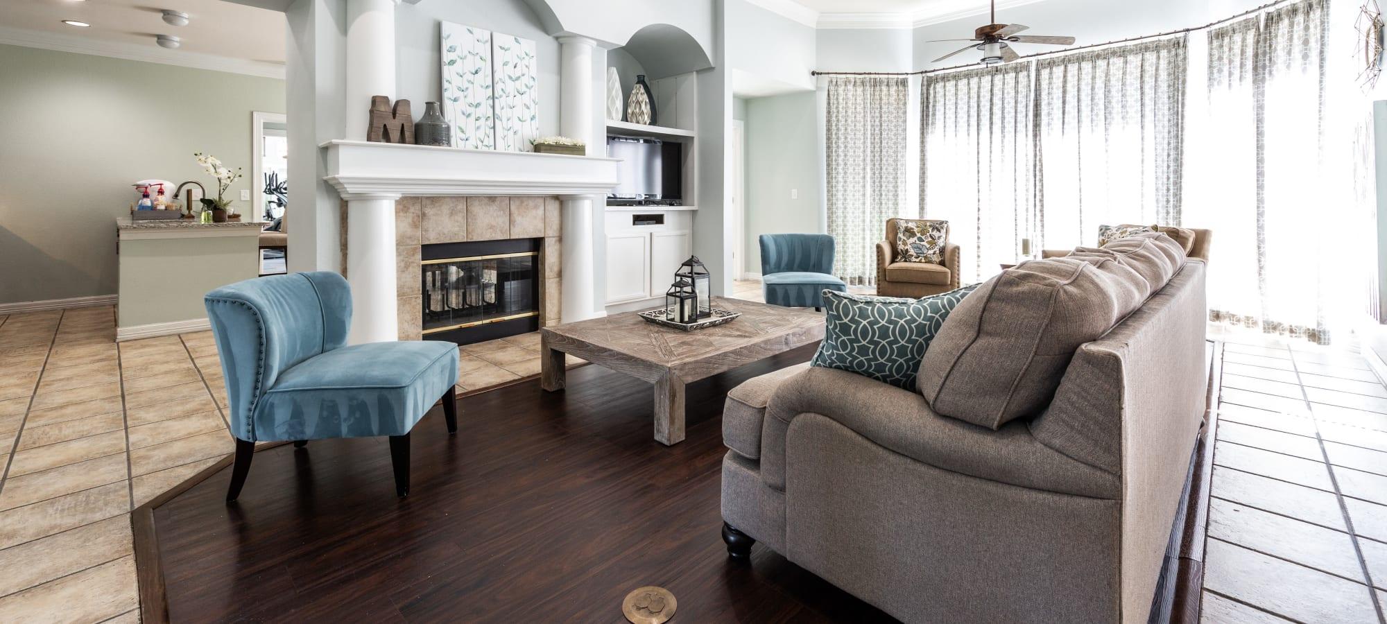 Floor plans at Marquis at Ladera Vista in Austin, Texas