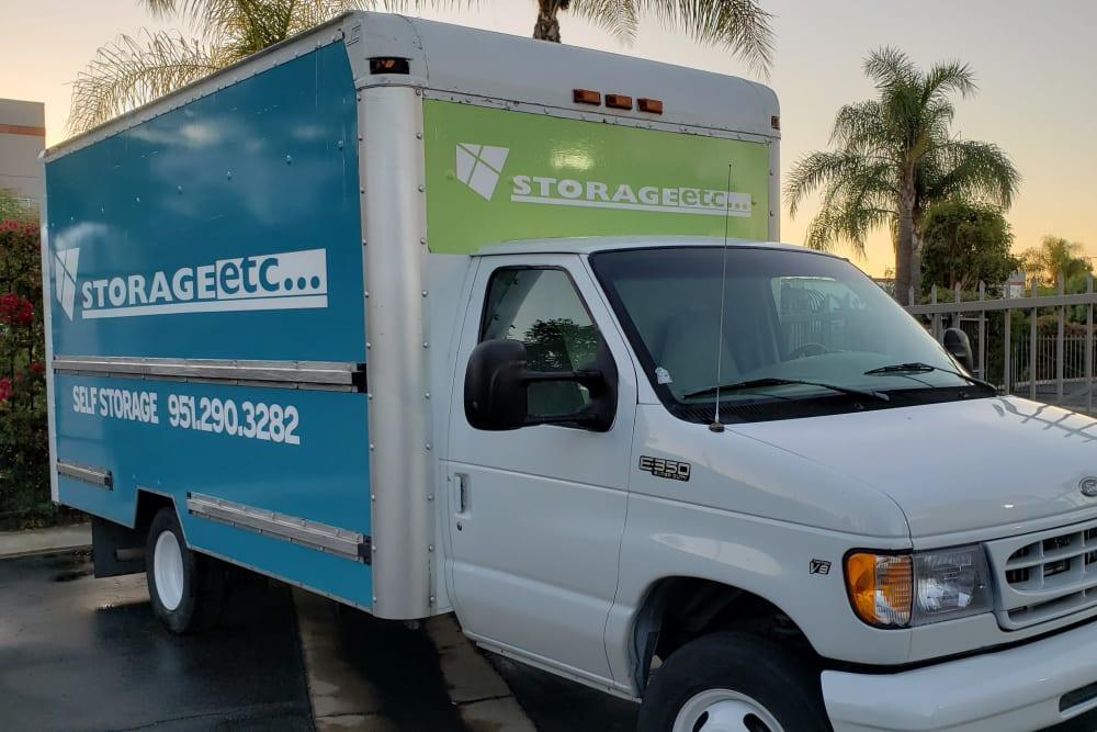 Rental Truck at Storage Etc... Pomona
