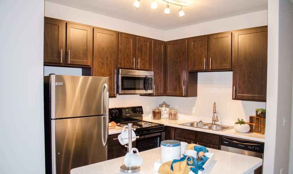Kitchen at Bear Valley Park in Denver, Colorado