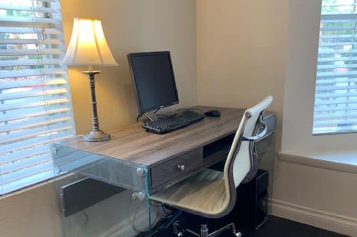 Work room at Sunrise Springs Apartments in Las Vegas, Nevada