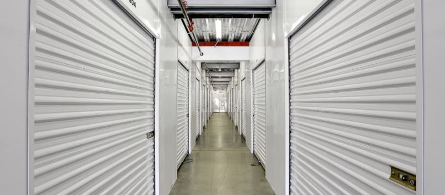 Storage units inside our facility in San Diego, California at A-1 Self Storage