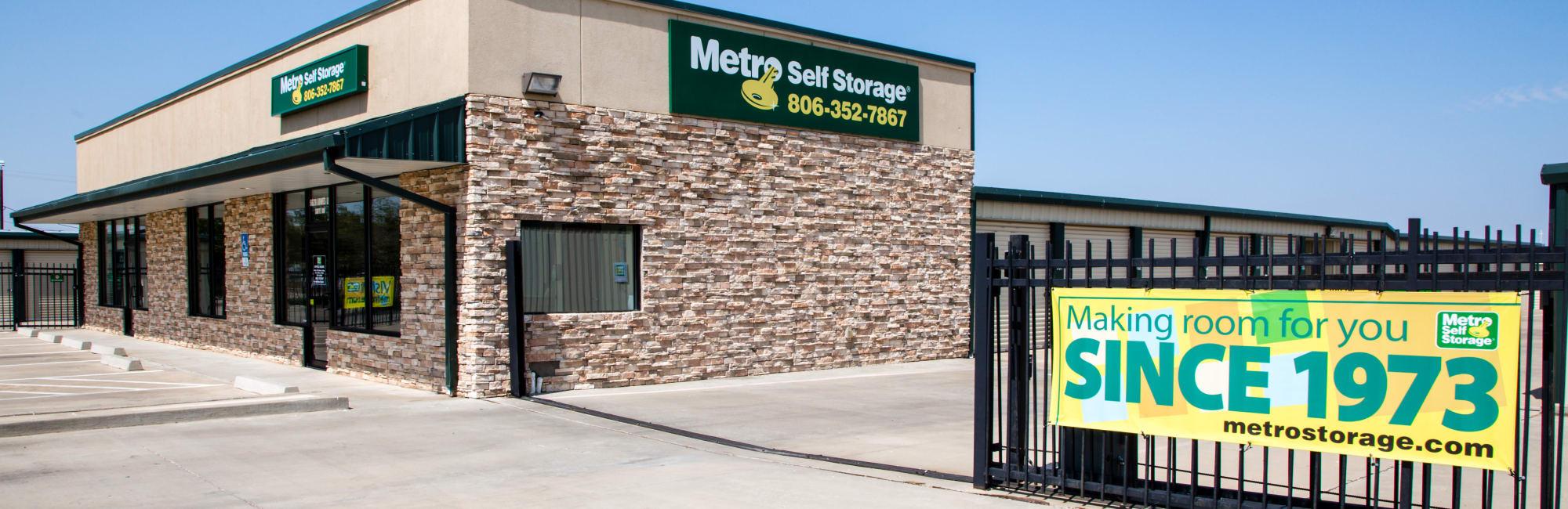Metro Self Storage in Amarillo, TX