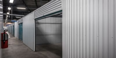 Climate controlled units at Riverfront Self Storage in New Orleans, Louisiana
