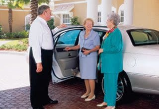 Senior living transportation in New Orleans features chauffeured transportation
