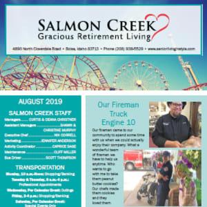 August Salmon Creek newsletter