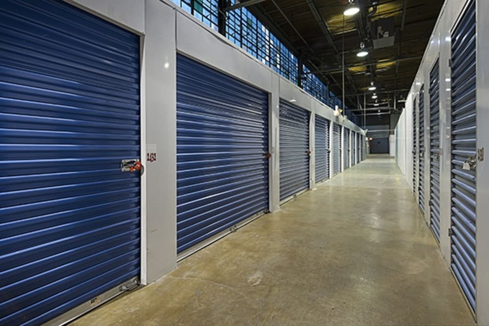 Indoor units at Metro Self Storage in Chicago, Illinois
