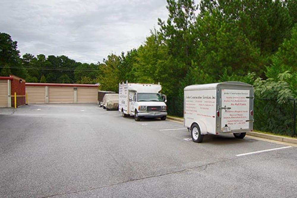 Metro Self Storage offers RV, boat storage in Lawrenceville, Georgia