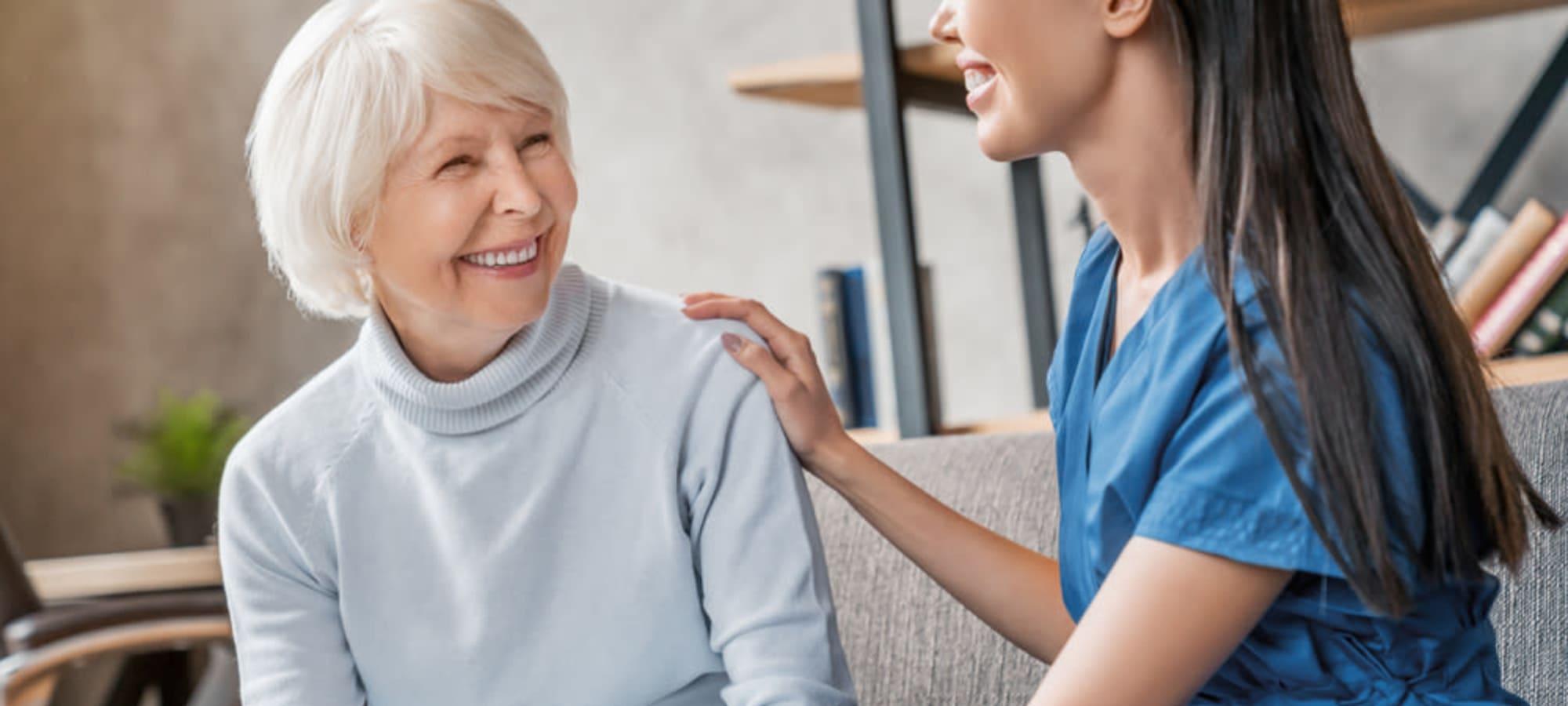 Senior living at Eureka Nursing in Eureka, Kansas