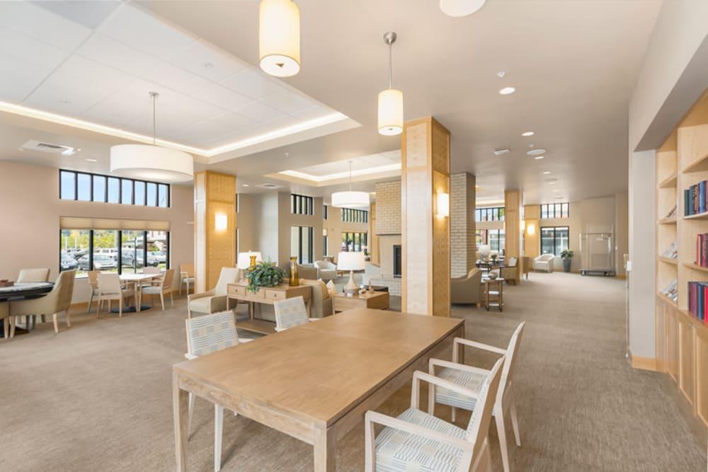 Private dining room at Merrill Gardens at Auburn in Auburn, Washington.