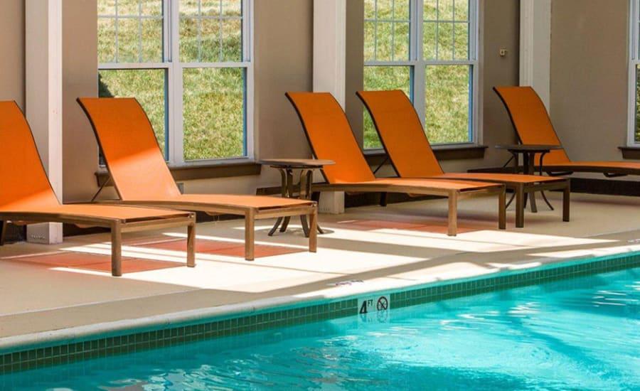 Pool table at Avana Abington Apartments