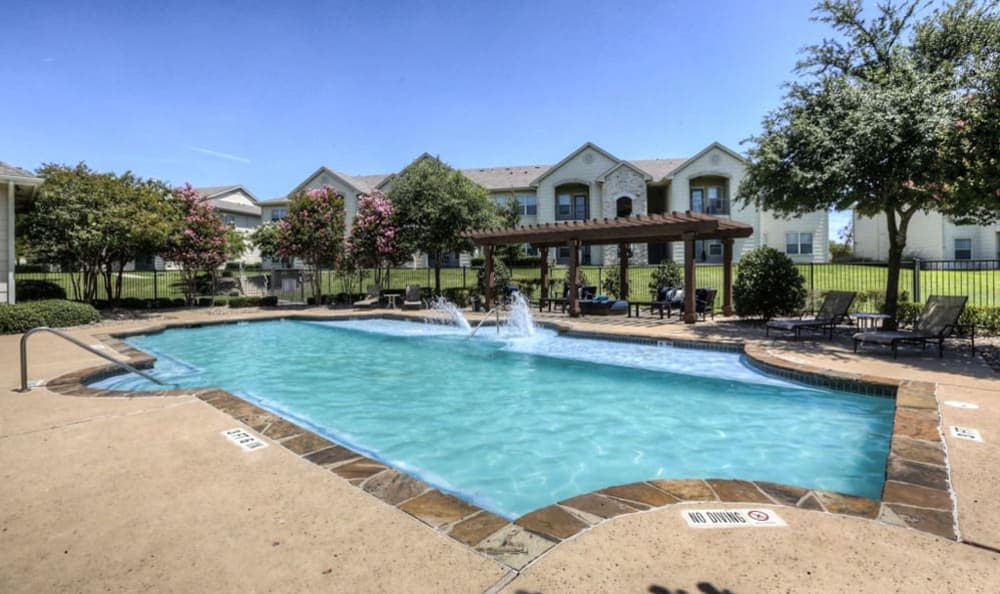 Resort-Style Swimming Pool at Stone Creek Apartments