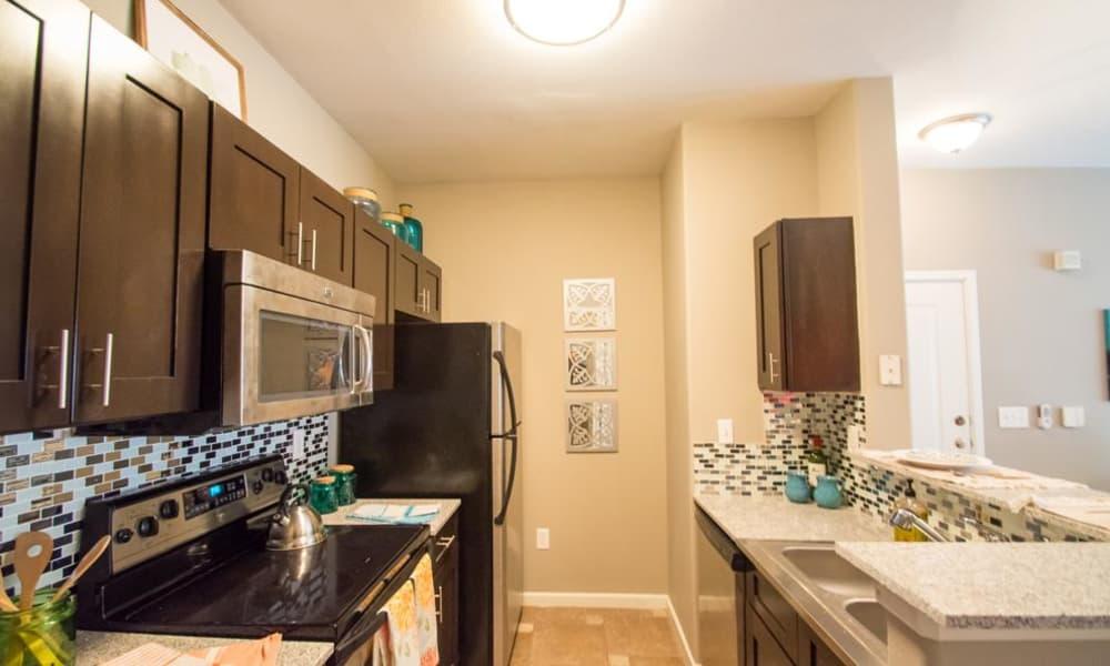 The Niche Apartments offers spacious kitchens in San Antonio, Texas