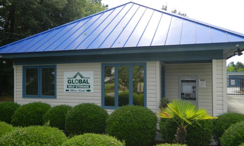 Self storage supplies at Global Self Storage locations