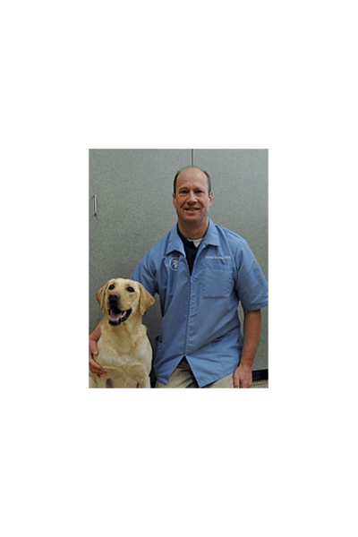 Dr. Henning at University West Pet Clinic