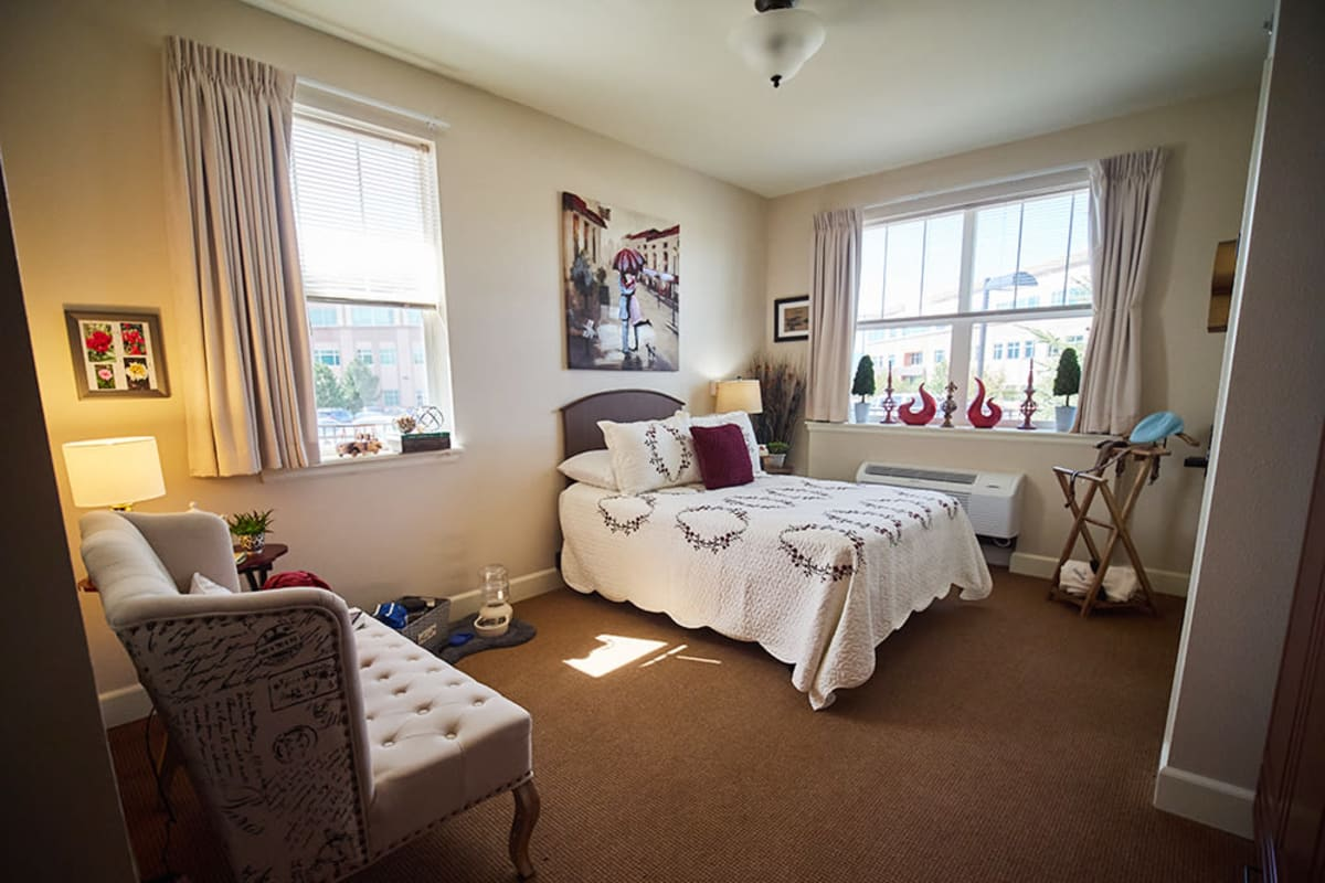 Suite at New Dawn Memory Care in Colorado Springs, Colorado