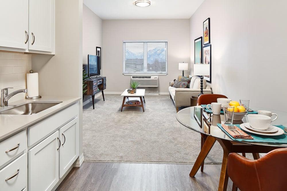 Large floor plans available at Anthology of South Jordan in South Jordan, Utah