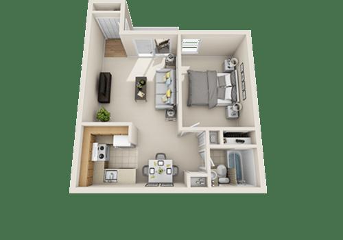 Studio, 1, 2 & 3 Bedroom Apartments for Rent in Williamsburg, VA