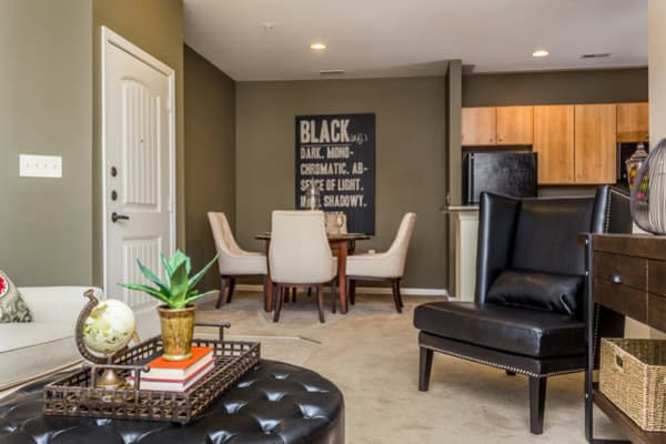 Spacious living area at Berkshire Fort Mill in Fort Mill, South Carolina