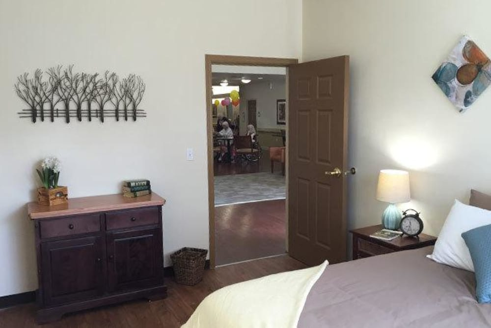 We have a room that you can customize and cherish at Regent Court Senior Living.